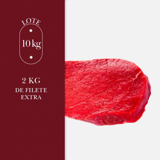 2 kg de filetes extra en nuestro lote de 10kg