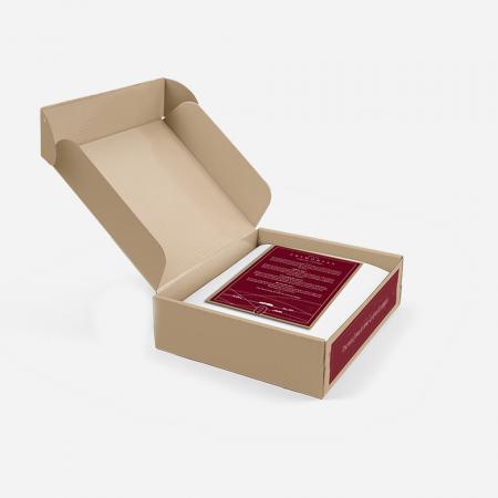 caja en la que se enviará tu lote de 3Kg de nuestra carne de ganadería de pasto