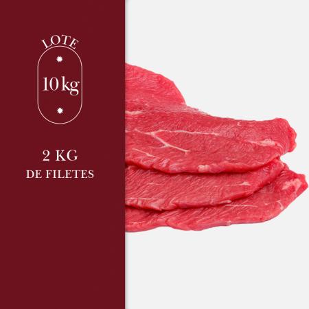 2kg de filetes de carne procedente de ganadería de pasto