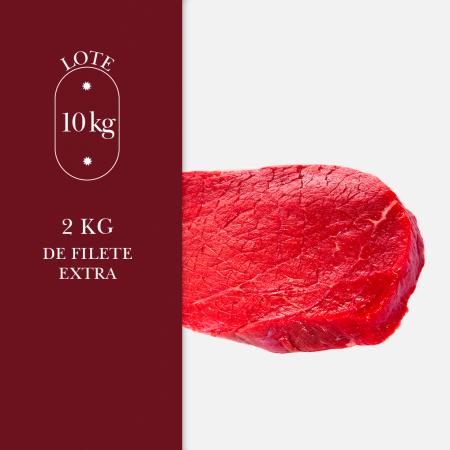 2 kg de filetes extra de carne de añojo de bienestar animal