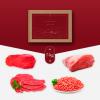 nuestro lote de 5 kg de carne de ternera de Cantabria, compuesto por filetes, carne picada y carne para guisar